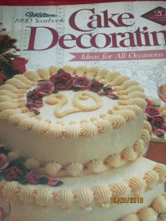 WILTON 1990 COLLECTIBLE CAKE DECORATING YEARBOOK
