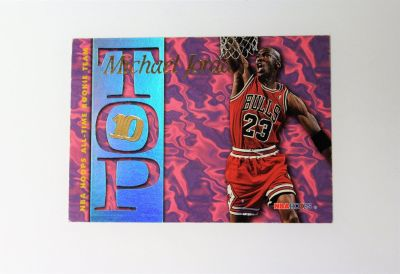 1995 Michael Jordan #23 All Time Rookie Team AR7 Basketball Card Chicago Bulls