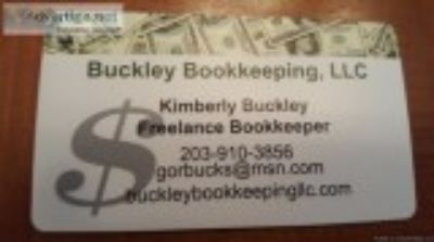 Local Freelance Bookkeeper Available