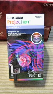 LED Light Show Projection~Comet Spiral~New in Box