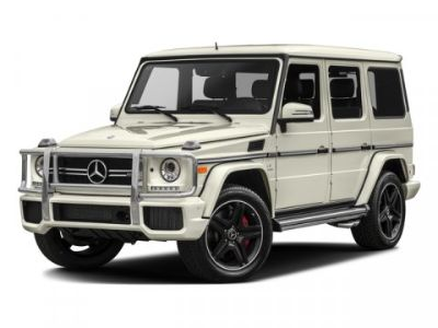 2017 Mercedes-Benz G-Class G63 AMG (designo Magno Night Black (Matte Finish))