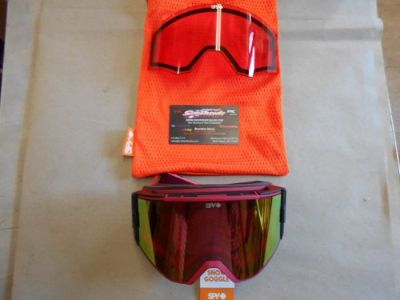 Buy Spy Ace Snowmobile Goggle Elemental Blush PNKw/PNKSPECT+PINK 310071189376 motorcycle in North Adams, Massachusetts, United States, for US $89.95