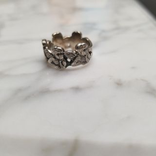 Angels Sterling silver ring. Size 5.Dickinson porch pick up, smoke free.