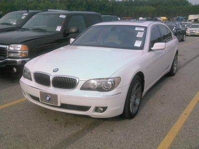 2006 BMW 7-Series 750Li (White)