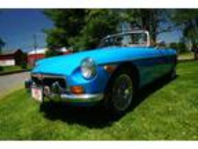 Used 1980 MG MGB WITH CHROME GRILLE&BUMPERS SPINNERED WIRE WHEELS UNLIKE OTHER