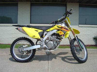 2014 Suzuki Motor of America Inc. RM-Z450 Motocross Motorcycles Winterset, IA