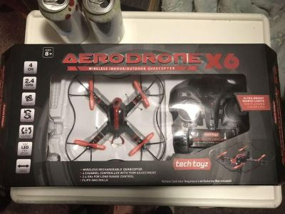 Wireless Rechargeable Toy Drone new in box