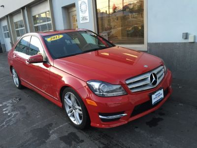 2012 Mercedes-Benz C-Class C300 4MATIC Luxury (Red)