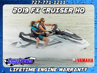 2019 Yamaha FX CRUISER HO **FREE LIFETIME WARRANTY OR FREE TRAILER** PWCs Clearwater, FL