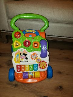 VTECH Sit to Stand Walker and detachable activity panel