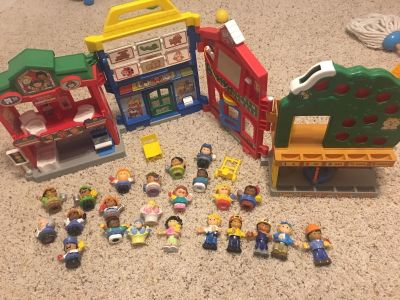 Little People Learn About Town Playset with various accessories!