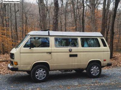 1984 Vanagon Westfalia Camper Van