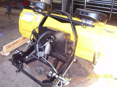 Purchase Fisher 7 1/2 Plow. Complete off truck set up FLEET FLEX OR 3 PLUG brand NEW! motorcycle in Saugus, Massachusetts, United States