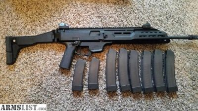 For Sale: CZ Scorpion EVO with 8 Mags & Apex Grip