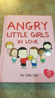 Angry Little Girls in Love - comic book like book