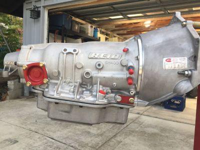 Hughes TH400 2 speed Transmission Reid case