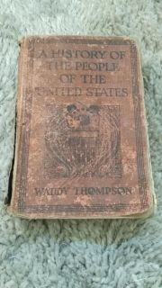 Antique History Book (1929)