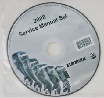 Sell 2008 Evinrude E-TEC CD ALL ENGINE + Outboard Motor Service Manuals 354166 OEM motorcycle in Daytona Beach, Florida, United States, for US $75.99