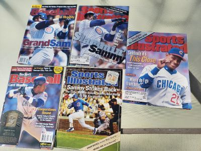 Cubs Sammy Sosa Beckett/Sports Illustrated Magazines. I have LOTS more Sports magazines.