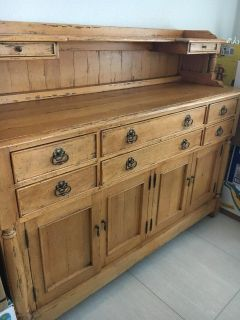 French Country solid pine side board/ server