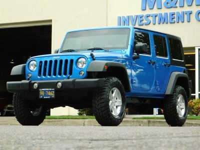 2015 Jeep Wrangler Unlimited Sport S 4WD 4DR NEW (Blue)