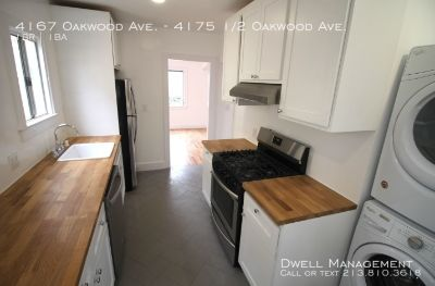 Apartment Rental - 4167 Oakwood Ave.