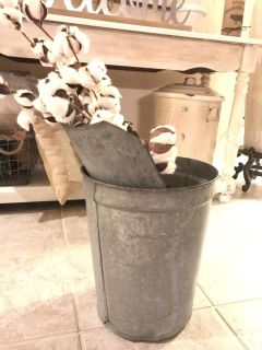 Antique Sap Bucket ( Xposted )