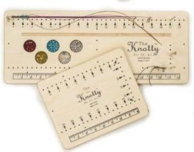 Knotty Do-It-All is Americas favorite cord knotting & design tool.