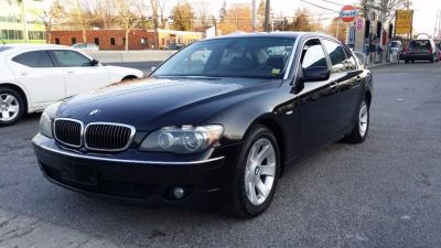 2007 BMW 7-Series 750Li (Azurite Black Metallic)