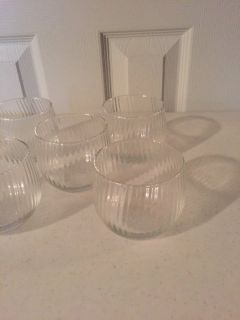 5 Votive Candle Holders