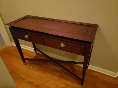 Console/ entry table needs refinished