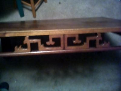 Mid-century Hendron coffee table