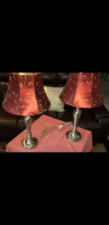 A pair of Table Lamps like new..