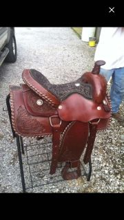 Like New - Only Used a Few Times --- SADDLE, STAND & BLANKET. Blanket Only Used Twice!!