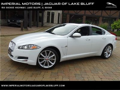 2015 Jaguar XF V6 Portfolio AWD (Polaris White)