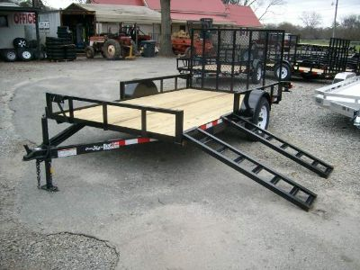 2017 utility trailers 76 x 12 atv rails