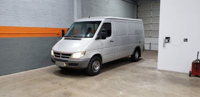 2004 Dodge Sprinter 2500 140 WB (Grey)