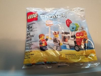Lego #40108 Balloon Cart Polybag NEW