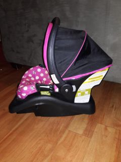 Minnie mouse Graco Travel System
