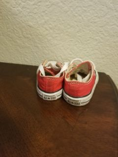 Baby Unisex Red Converse Size 2