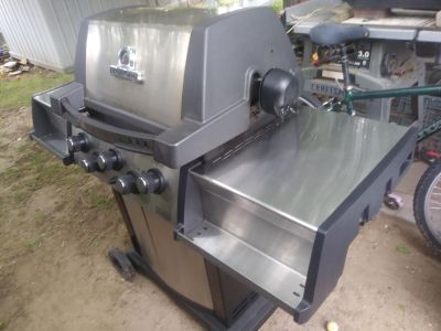 Broil King barbecue grill and rotisserie