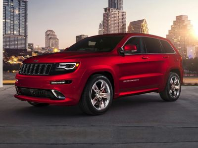 2015 Jeep Grand Cherokee SRT (Bright White Clearcoat)