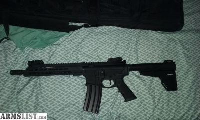 For Sale: New never fired ar15 pistol