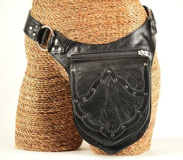 Buy Leather Motorcycle Belt Bags for Men online