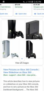 Xbox 360 w/ controllers + games
