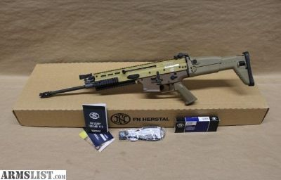For Sale: FN SCAR 16S 5.56mm FDE