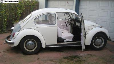 1968 Bug with sunroof