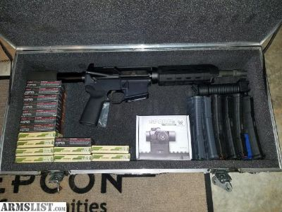 For Sale: AR .223/5.56 pistol package deal