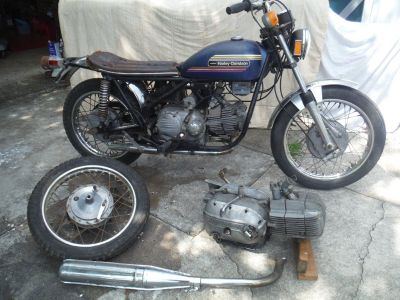 1974 Harley Davidson Sprint 350SS