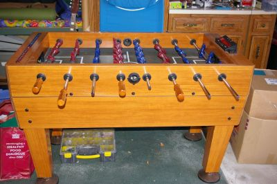 Foosball Table - Harvard full size with electronic score keeper